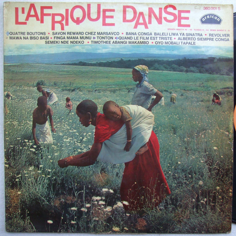 l'afrique danse vol.1 OK JAZZ bokelo RUMBA AFRO LATIN 60's LP