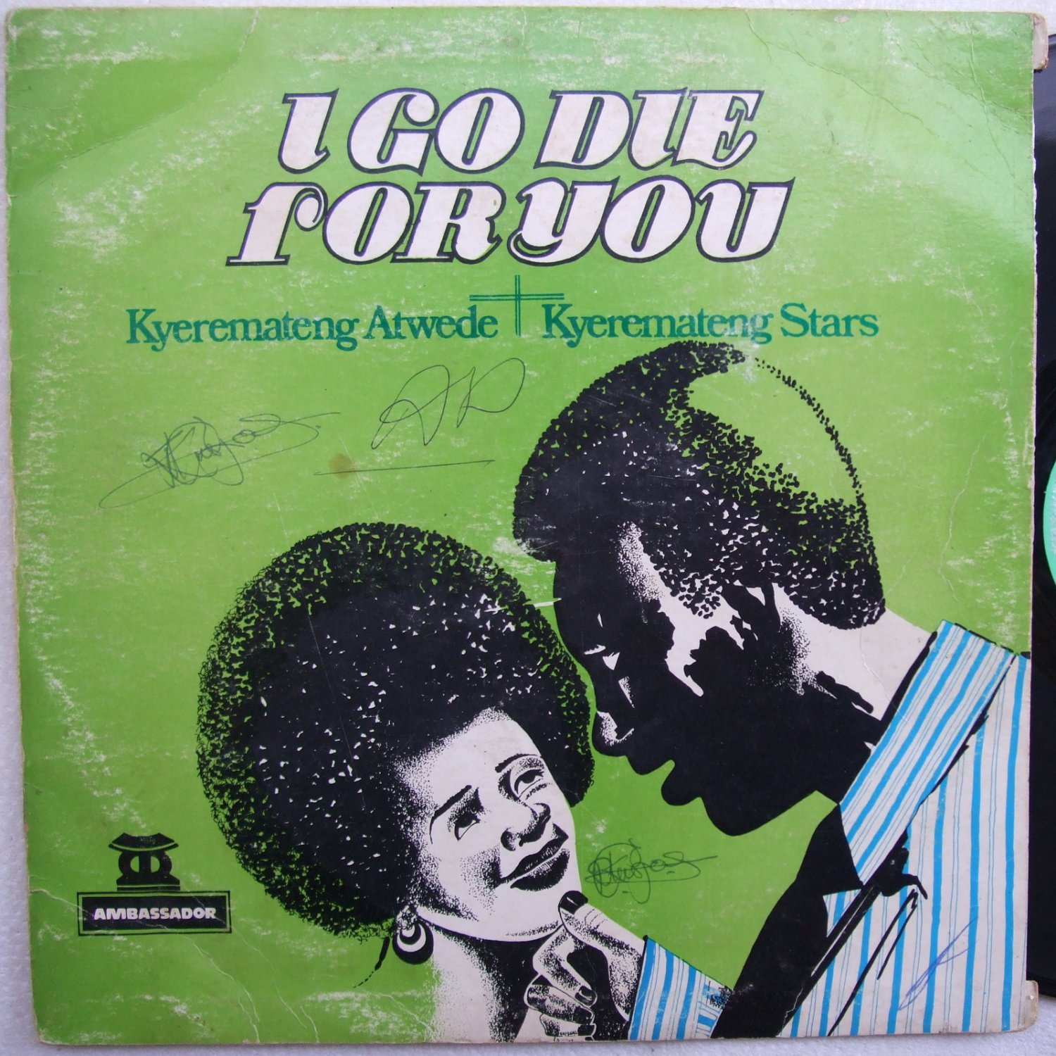 KYEREMATENG i go die for you ESSENTIAL DEEP HIGHLIFE LP