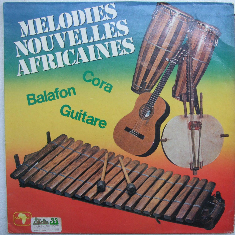 MELODIES NOUVELLES AFRICAINES cora balafon guitare DEEP HYPNOTIC MANDING LP