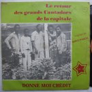 BONY PASCAL & GRANDS CANTADORS donne moi credit DANCEFLOOR HIGHLIFE SOUKOUS LP