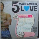 VICTOR UWAIFO 5 days a week love AFRO TITIBITI FUNK REGGAE LATIN LP
