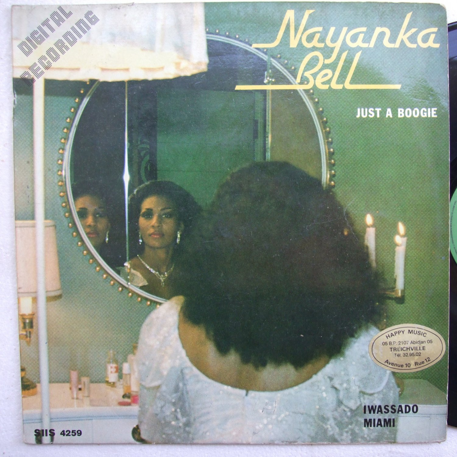 NAYANKA BELL just a boogie JIMMY HYACINTHE GEORGE HAPPI AFRO BOOGIE FUNK MODERN SOUL LP mp3 listen