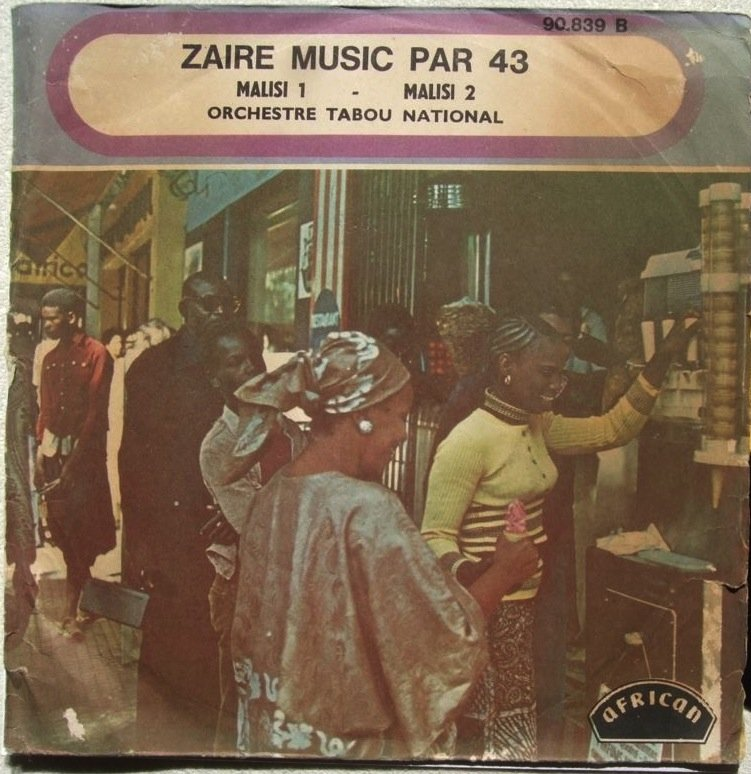 """ORCHESTRE TABOU NATIONAL malisi 7"""" RARE RUMBA SOUKOUS � hear"""
