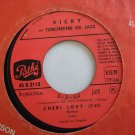 "VICKY & ORCH OK JAZZ cheri lovy RUMBA AFRO LATIN 7"" ♬ mp3 listen"