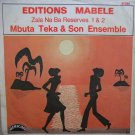 "MBUTA TEKA & SON ENSEMBLE zala na ba reserves 7"" CATCHY RUMBA SOUKOUS ♬"