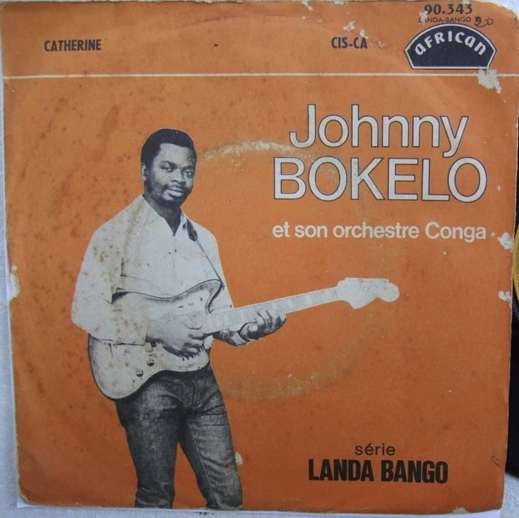 """JOHNNY BOKELO & ORCH CONGA catherine 7"""" RUMBA SOUKOUS AFRICAN � listen"""
