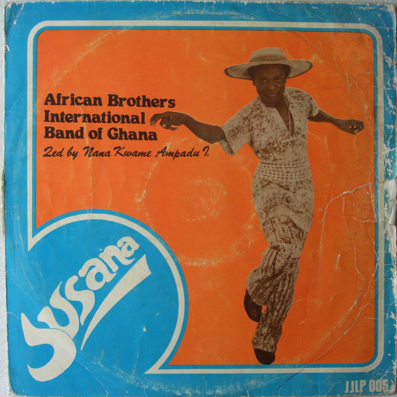 AFRICAN BROTHERS susana LP HIGHLIFE GHANA mp3 listen