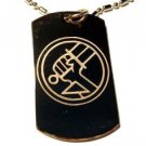 Military Dog Tag Metal Chain Necklace - Bureau of Paranormal Research Defense