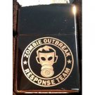 Vector Custom Engraved Butane Lighter - Human Gas Mask Zombie Response Team
