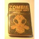 Vector Custom Engraved Butane Lighter - Zombie Response Team Unit Gas Mask Logo