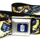 Doctor Who Adjustable Web Seatbelt Belt w/ Buckle