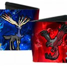 Pokemon Monsters Generation VI 6 Xerneas & Yveltal w/ Logo Bi-Fold Wallet