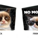 "Grumpy Cat - ""No Money? / I'm Not Impressed"" Bi-Fold Wallet"