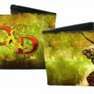 """Dungeons and Dragons Bi-Fold Wallet - """"D&D"""" Logo w/ Medieval Warrior Bow & Arrow"""
