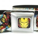 Iron Man Comic Strip Seatbelt Belt