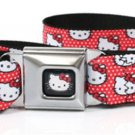 Hello Kitty Red Bow Seatbelt Belt