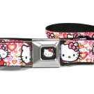Hello Kitty Seatbelt Belt - Hello Kitty Valentine's Day