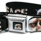 Grumpy Cat This Is My Happy Face Seatbelt Belt