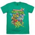 Teenage Mutant Ninja Turtles Seatbelt Belt - Donnie, Raph, Mikey, & Leo Smiling