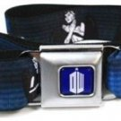 Dr. Who BBC Seatbelt Belt - Dr. Who DON'T BLINK w/ Weeping Angels