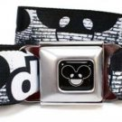 Deadmau5 Seatbelt Belt - deadmau5 Brick Wall White/Black