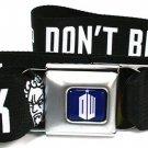 Doctor Who Keep Calm & Don't Blink Seatbelt Belt