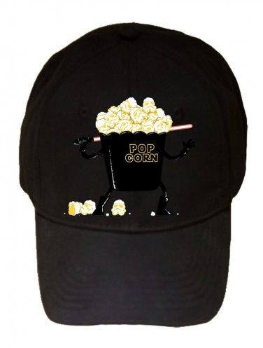 """Pop Corn Kingdom"" Space Movie Parody Villain Sword - Black Adjustable Cap Hat"