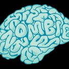 """""""Zombie Need Brain"""" Hungry for Brains Cartoon - Rectangle Refrigerator Magnet"""
