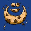 """""""Hidden Monster"""" Public Television Show Parody Chocolate Chips - Vinyl Sticker"""