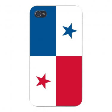 Panama World Country National Flag - FITS iPhone 5 5s Plastic Snap On Case
