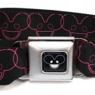 Deadmau5 Pink Faces Seatbelt Belt