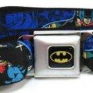 DC Comics Batman Seatbelt Belt - Batman Blue Scene