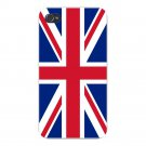 The United Kingdom UK World Country Flag - FITS iPhone 4 4s Plastic Snap On Case