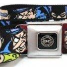 DC Comics The Justice League Seatbelt Belt - Justice League Villains