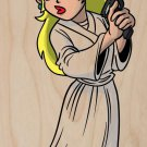 Plumbing Wars Main Hero Girl Movie Parody - Plywood Wood Print Poster Wall Art