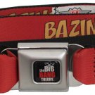 Big Bang Theory Red Bazinga Seatbelt Belt