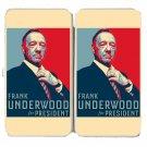 Frank Underwood For President TV Show Parody - Womens Taiga Hinge Wallet Clutch
