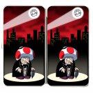 Short Mobster Guy Game & Super Hero Parody - Womens Taiga Hinge Wallet Clutch