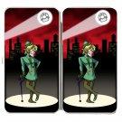 Question Mark Guy Game & Super Hero Parody - Womens Taiga Hinge Wallet Clutch