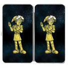 Plumbing Wars Shiny Robot Man Movie Parody - Womens Taiga Hinge Wallet Clutch
