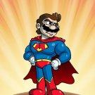 Plumbers League of America Fast Cape Hero Parody - Rectangle Refrigerator Magnet