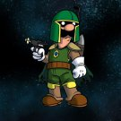 Plumbing Wars Bounty Hunter Game & Movie Parody - Rectangle Refrigerator Magnet