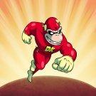 Plumbers League of America Fast Hero Game & Super Hero Parody - Vinyl Sticker