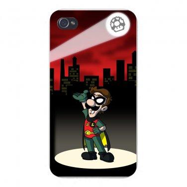 Bird Sidekick Game & Super Hero Parody - FITS iPhone 4 4s Plastic Snap On Case