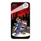 Clown Criminal Game & Super Hero Parody - FITS iPhone 4 4s Plastic Snap On Case