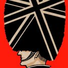 London Man Queen's Guard Red & Black - Plywood Wood Print Poster Wall Art