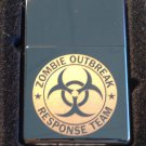 Zippo Custom Lighter - Biohazard Toxic Seal Zombie Outbreak Response Team Logo
