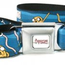 Adventure Time Dancing Finn & Jake Seat Belt Buckle Belt