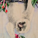 Cute Baby Slot Hanging From Tree - Plywood Wood Print Poster Wall Art