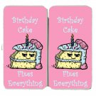 Birthday Cake Fixes Everything Food Humor - Womens Taiga Hinge Wallet Clutch